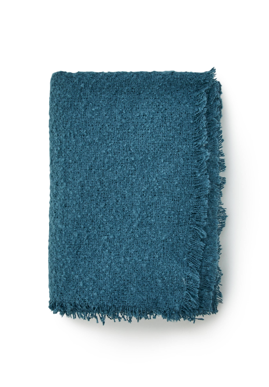 Pull&bear Schal - Mottled Blue/blau-meliert