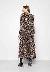 Lindex - DRESS KRINKLA - Maxi dress - offblack - 2
