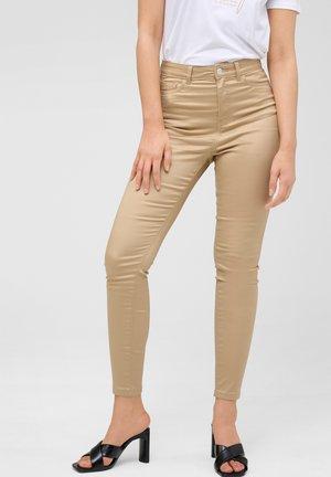 Trousers - autumn beige