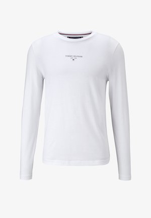 LOGO UNISEX - Bluzka z długim rękawem - white