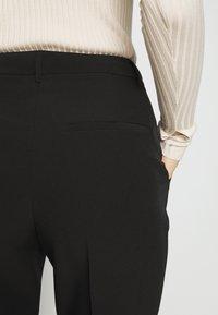 Bruuns Bazaar - RUBY VIGGA PANT - Trousers - black - 5