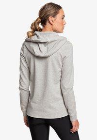 Roxy - DOWN ON ME  - Zip-up sweatshirt - heritage heather - 1