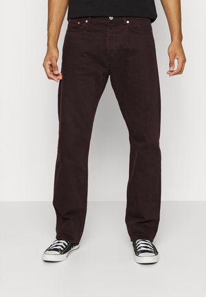 SPACE - Straight leg jeans - cocoa brown