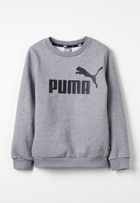 Puma - LOGO CREW - Sweatshirts - medium gray heather - 0