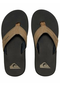 Quiksilver - MONKEY WRENCH  - T-bar sandals - tan - solid - 2