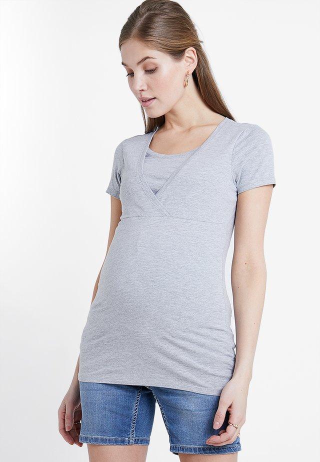 NURSING TEE - T-shirt basic - grey