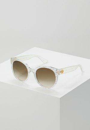 Zonnebril - silver/brown