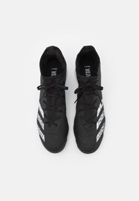 adidas Performance - PREDATOR FREAK .3 TF - Astro turf trainers - core black/footwear white - 3
