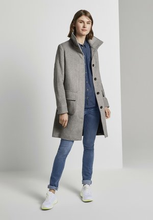 MODERN COAT - Mantel - mid grey
