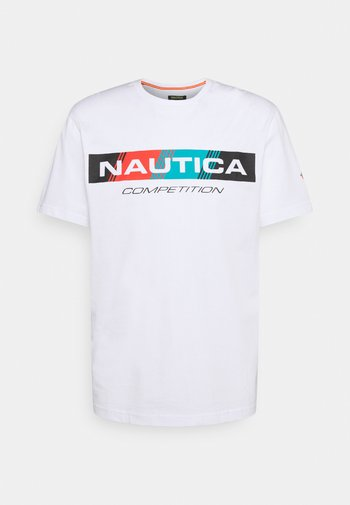 POLACCA - Print T-shirt - white