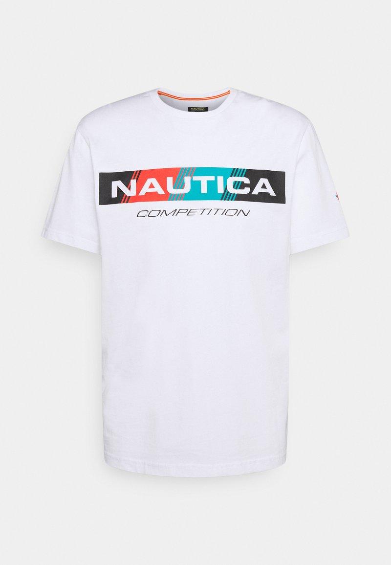NAUTICA COMPETITION - POLACCA - Print T-shirt - white
