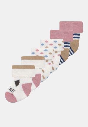 VARIETY STRIPE 6 PACK UNISEX - Ponožky - multi-coloured