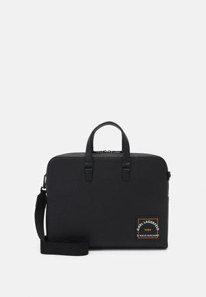 SAFFIANO BRIEFCASE UNISEX - Laptop bag - black