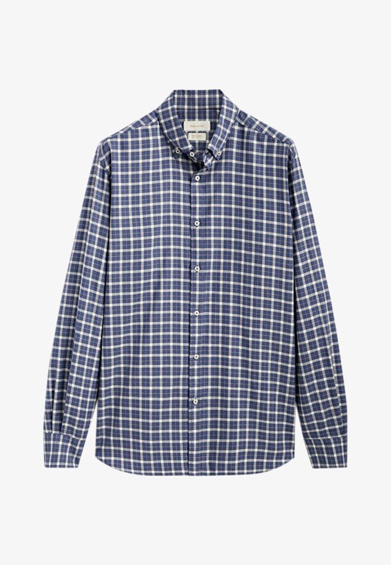 Massimo Dutti - REGULAR FIT - Shirt - blue