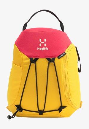 Backpack - pumpkin yellow/scarlet red