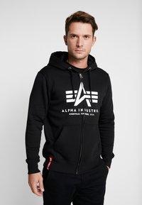 Alpha Industries - Zip-up hoodie - black - 0