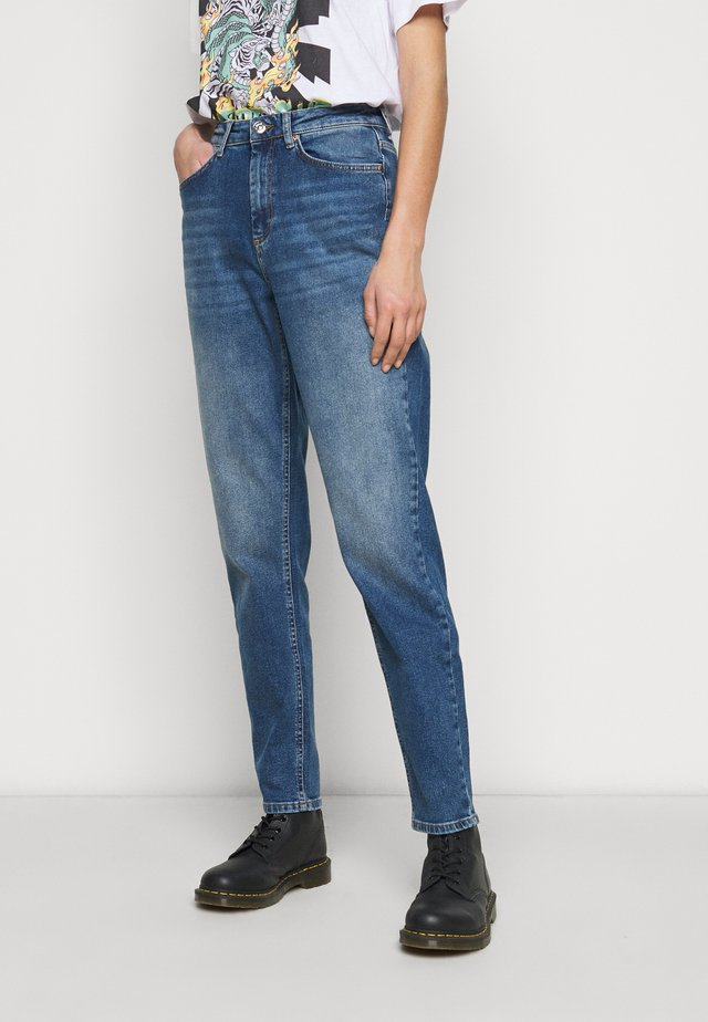 ONLVENEDA LIFE MOM - Jeans baggy - dark blue denim