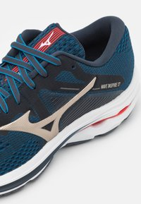 Mizuno - WAVE INSPIRE 17 - Stabilty running shoes - india ink/platinum gold/ignition red - 5