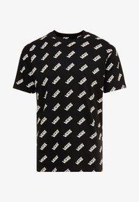Vans - RETRO ALLOVER - T-Shirt print - black - 3