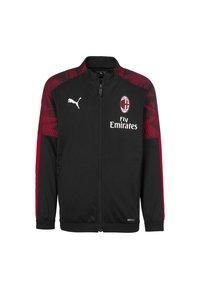 Puma - Sports jacket - black-tango red - 0