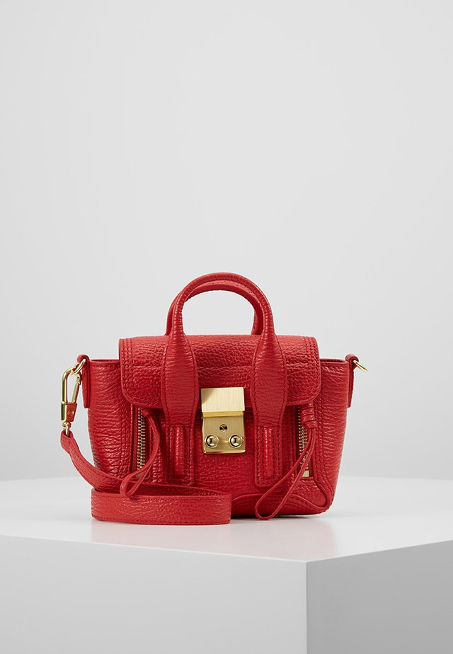 PASHLI NANO SATCHEL - Across body bag - red