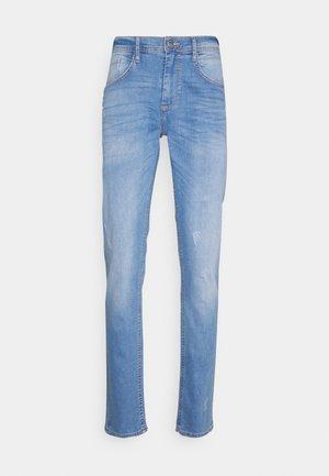 JET FIT SCRATCHES - Slim fit jeans - denim light blue
