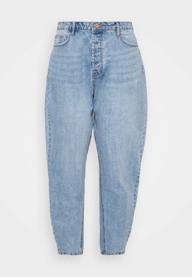 Missguided Plus - PLUS CLEAN  - Straight leg jeans - blue