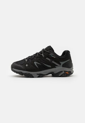 RAVUS VENT LITE LOW WATERPROOF - Hiking shoes - black/cool grey