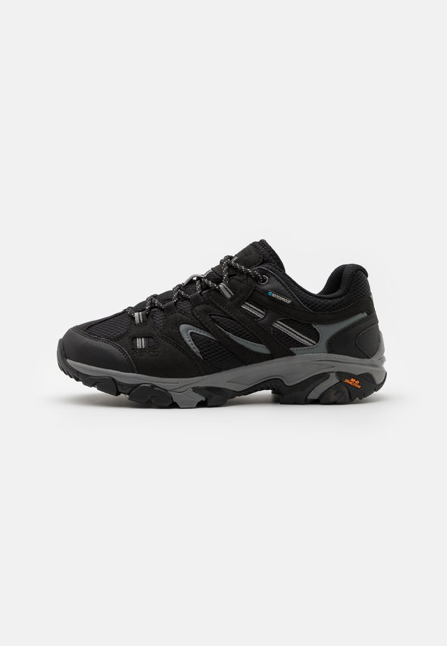 RAVUS VENT LITE LOW WATERPROOF - Scarpa da hiking - black/cool grey