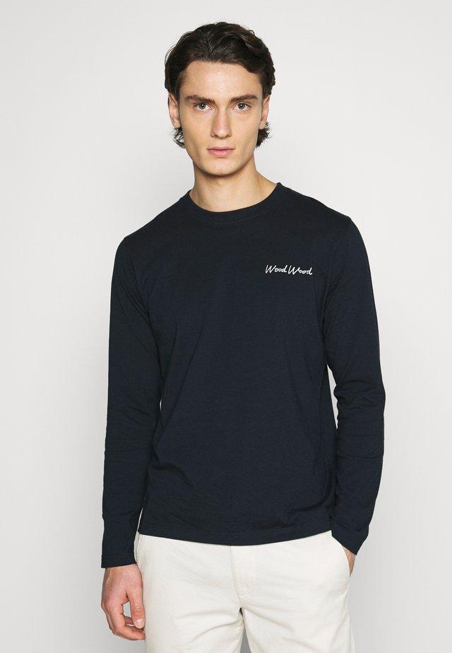 PETER  - Long sleeved top - navy