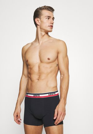 LOGO BOXER BRIEF 4 PACK - Pants - black