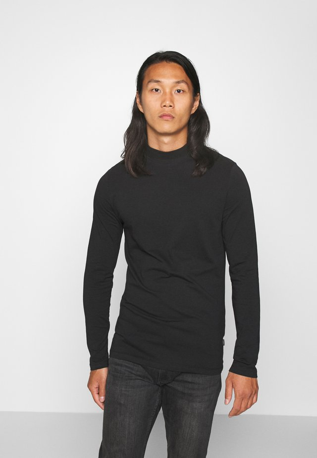 THEO TURTLE NECK  - T-shirt à manches longues - anthracite black
