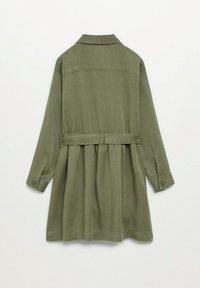 Mango - IVA - Robe chemise - kaki - 1