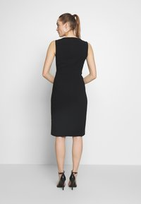Sisley - DRESS - Shift dress - black - 2
