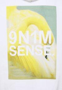 9N1M SENSE - FLAMINGO HOODIE UNISEX - Sweatshirt - white - 2