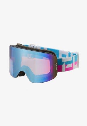PRIME UNISEX - Masque de ski - bright pink/blue