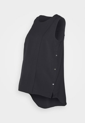 SIDE HUSTLE TUNIC - Top - black