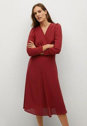 MARIA - Denní šaty - rouge