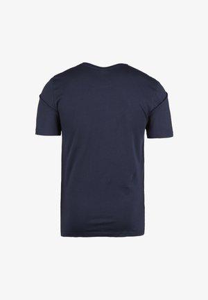 UNWIND TEE - Basic T-shirt - black iris