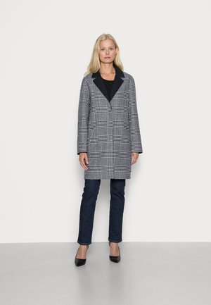 REVERSIBLE COAT - Classic coat - offwhite/navy