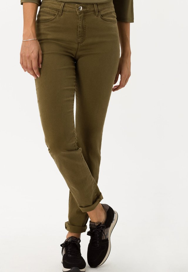 SHAKIRA - Jeans Skinny - khaki