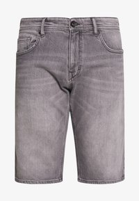 Esprit - Denim shorts - grey light wash - 3