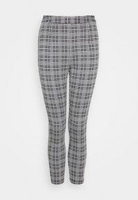 Even&Odd Tall - Leggings - Trousers - black  white - 0