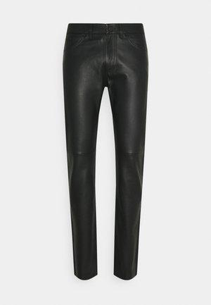PANTS - Spodnie materiałowe - black