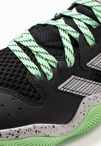 adidas Performance - HARDEN STEPBACK - Basketball shoes - core black/grey two/glow mint - 5