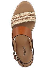 NeroGiardini - Wedge sandals - cognac - 3