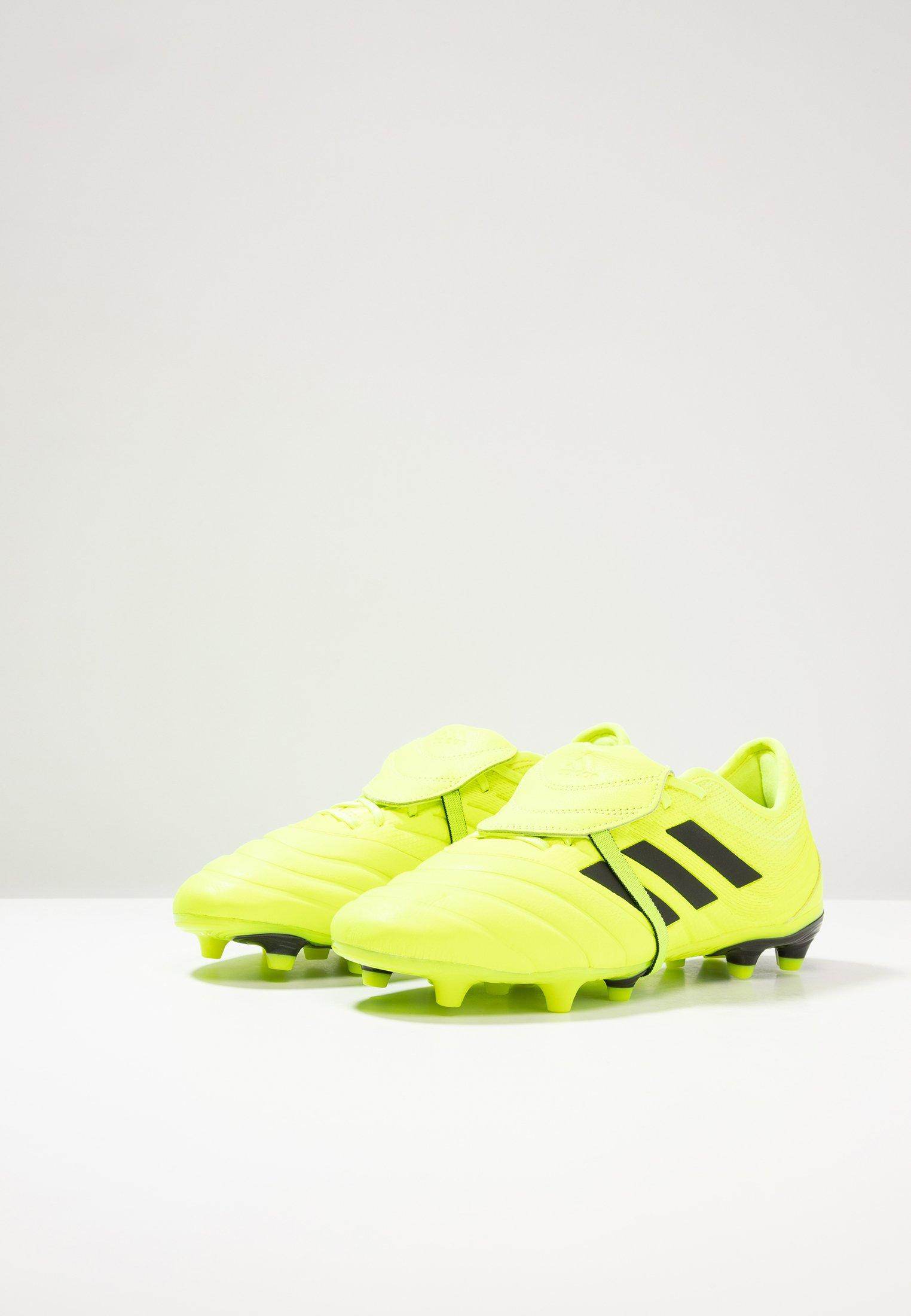 adidas Performance COPA GLORO 19.2 FG - Fußballschuh Nocken - solar yellow/core black/gelb - Herrenschuhe lU3Sw