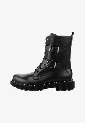 TRECENTA - Cowboy/biker ankle boot - black