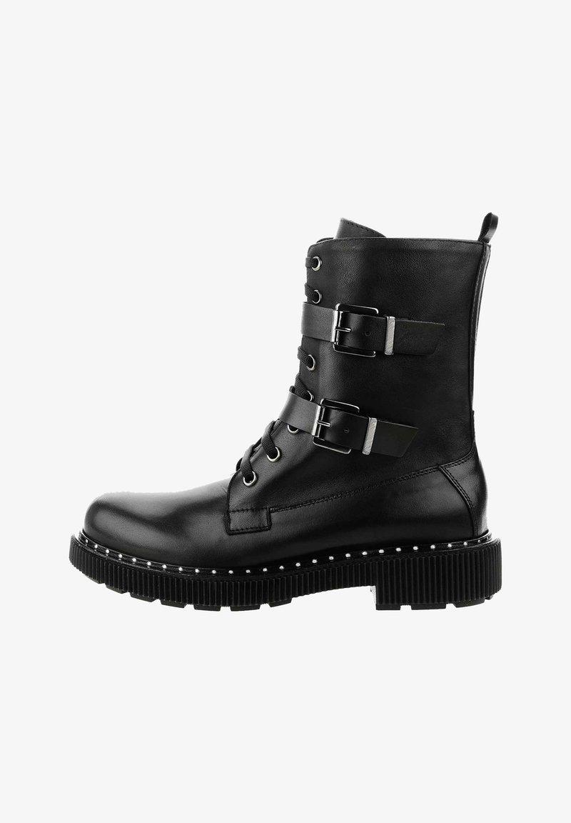 PRIMA MODA - TRECENTA - Cowboy/biker ankle boot - black