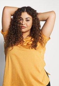 Active by Zizzi - AMAYS - Camiseta estampada - olden yellow - 3